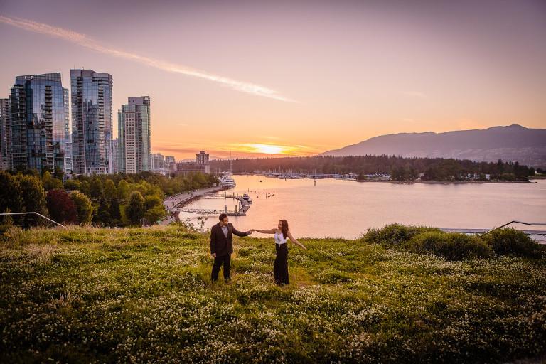 Coal Harbour Vancouver Engagement